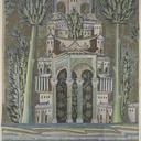 louvre  releves des mosaiques de la grande mosquee de damas 705 715