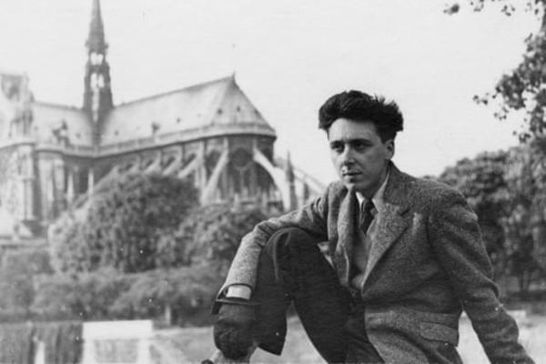 Daniel Cordier à Paris dans les années 1940.Photographie : Musée de l'Ordre de la Libération/AFP/Getty Images
